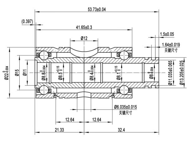 Ceramic Dual Ball Bearings For GT25R GT28R GT30R GT35R Turbos